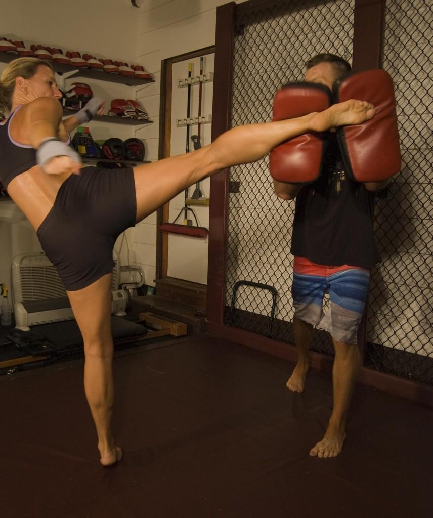 Personal Training High Kick Training