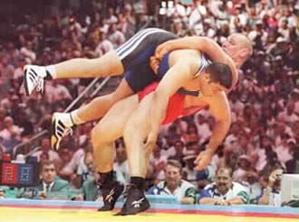 Wrestling Training- Learn how to wrestle and get in shape