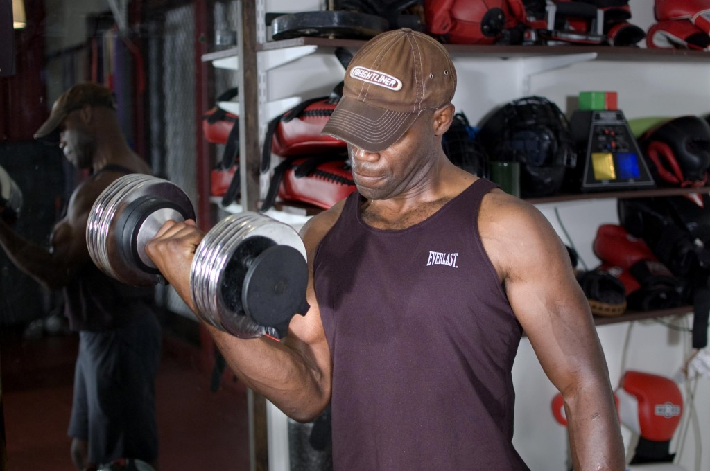NJ Personal Training Dumbells and Weights