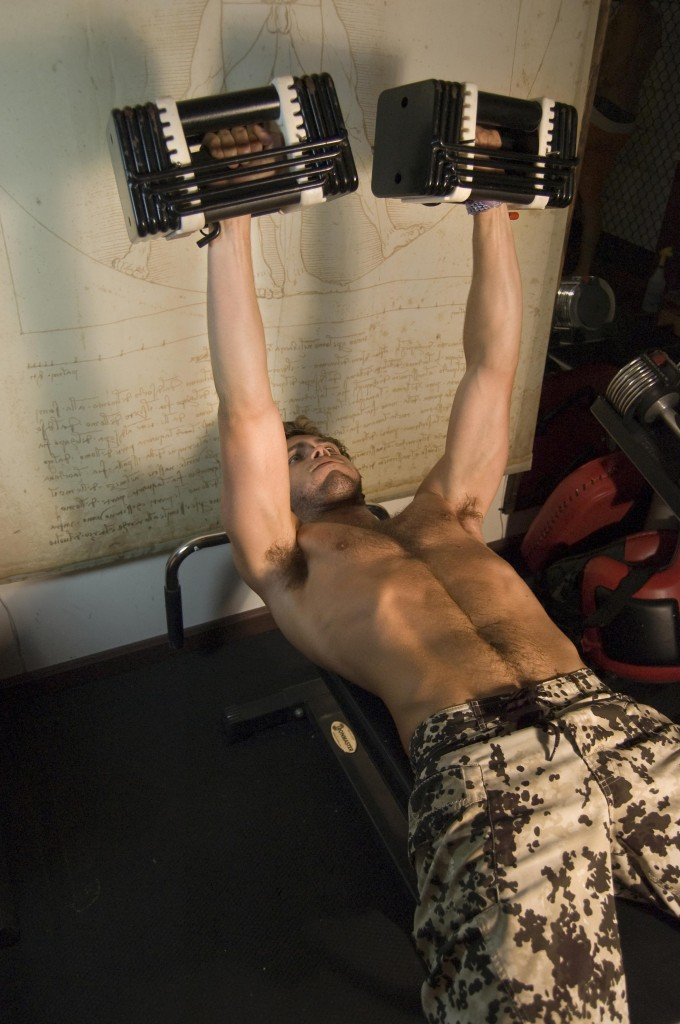 NJ Personal Training Dumbell Bench