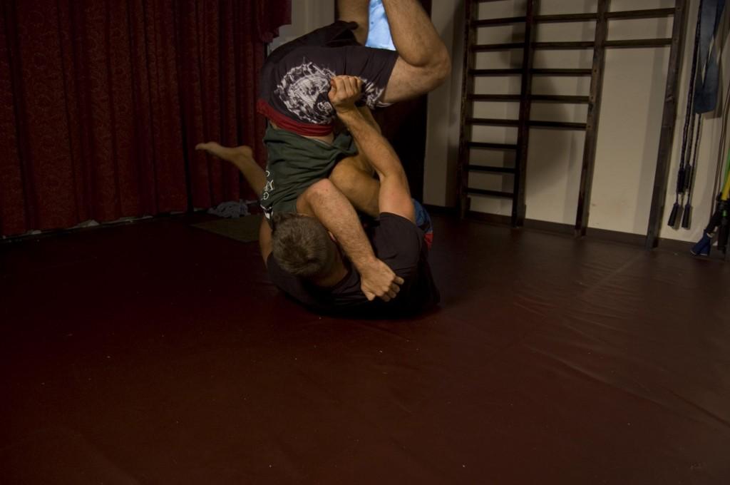 Jiu Jitsu Training Travis Roesler