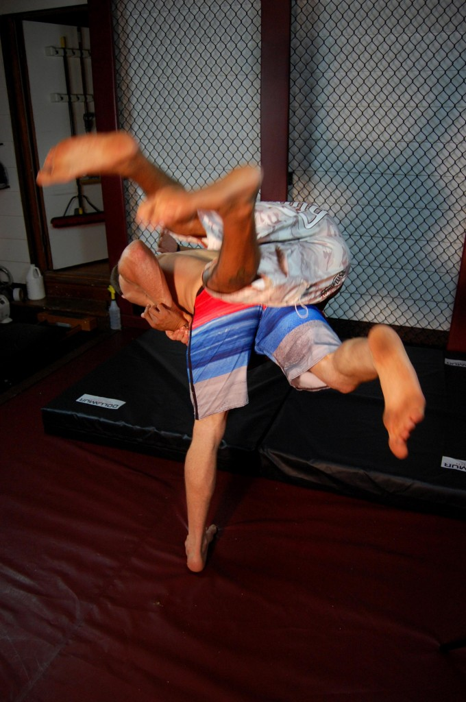 Travis Roesler Judo Throw