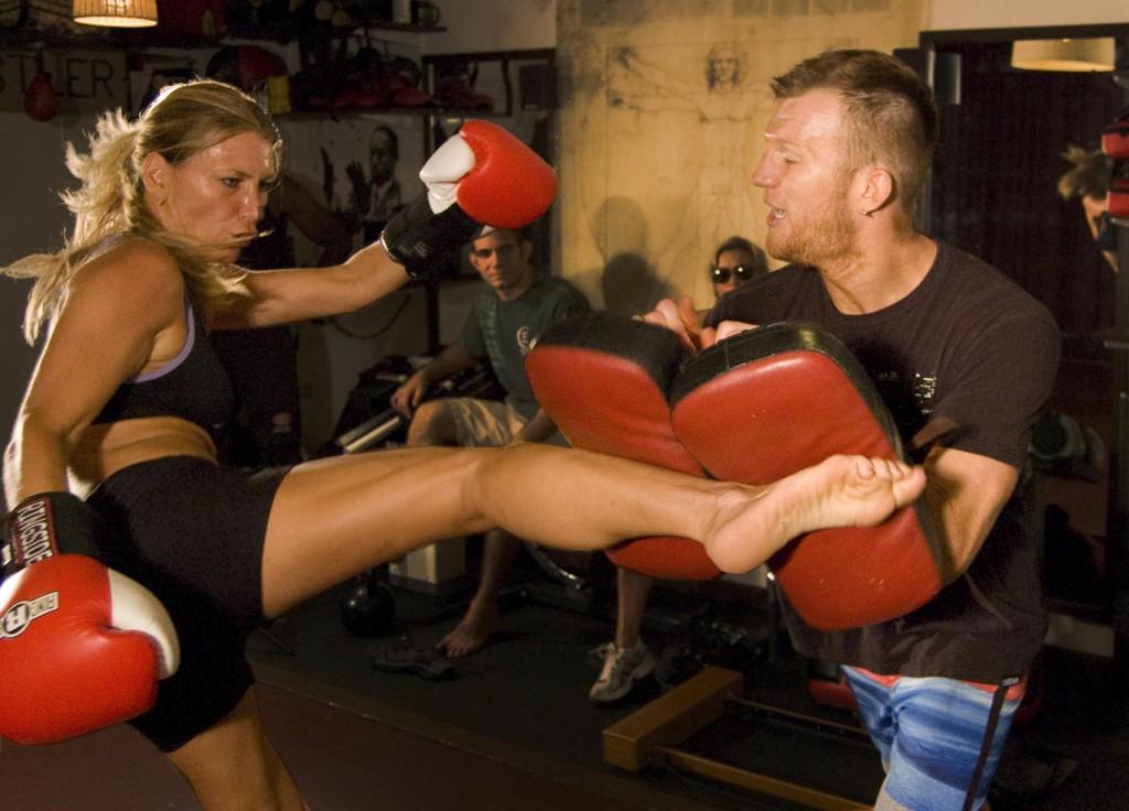 NJ Personal Training Kick Hard