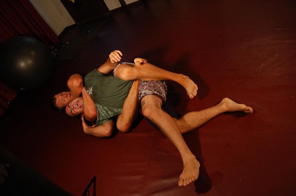 Travis Roesler Rear Naked Choke